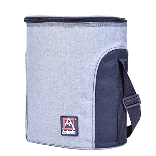 Avalanche Hazen on the Go Cooler Lunch Bag Tote Travel, Gray, One Size by Avalanche (Image #2)