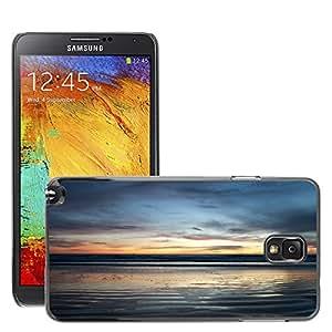Cas Coq Case Cover // M00421890 Tarde de playa azul cielo costa // Samsung Galaxy Note 3 III N9000 N9002 N9005