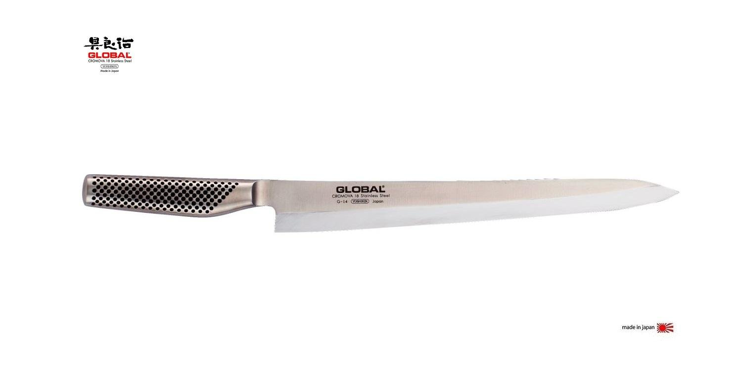 Global 12 in. Yanagi Sashimi - Sushi Knife G-14