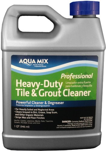 Aqua Mix Heavy Duty Tile And Grout Cleaner Quart Buy