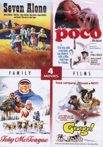 Family Films - Kids Adventure Collection 4 Movies Set: Seven Alone, poco, Toby McTeague, & George! by Dewey Martin