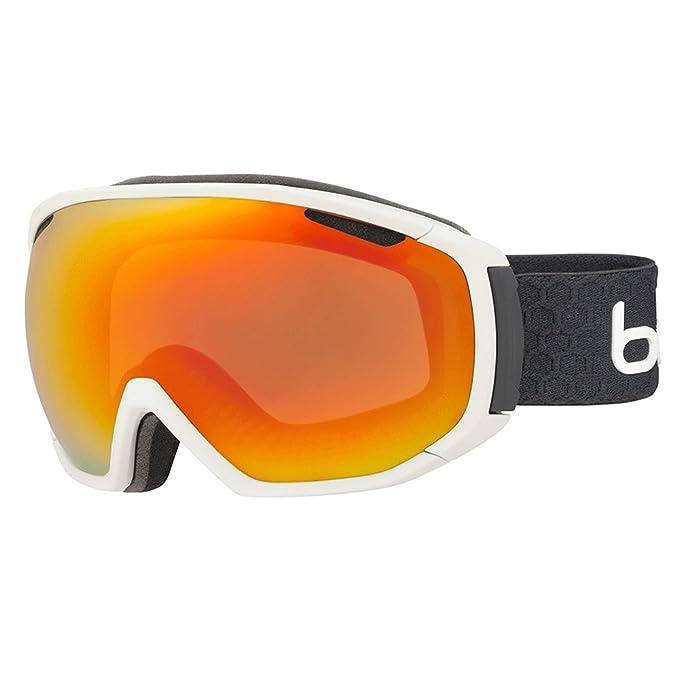 Gafas de esquí naranja neón para sol Bollé