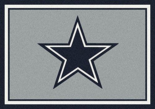 Dallas Cowboys NFL Team Spirit Area Rug by Milliken, 7'8
