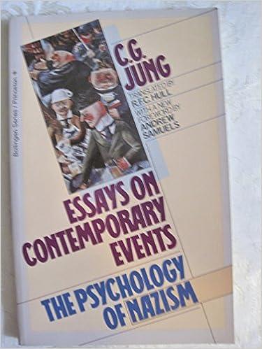 Dr  Carl Gustav Jung  The Wotan Essay