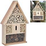 Hillfield® Insektenhotel Groß oder Kompakt Insektenhaus und Bienenhaus , Nistkasten und Bruthilfe