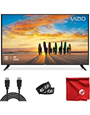 $499 » VIZIO V-Series 50-Inch 2160p 4K UHD LED Smart TV (V505-G9) with Built-in HDMI, USB, Dolby Vision HDR, Voice Control Bundle with 6.5 ft HDMI Cable and Accessories