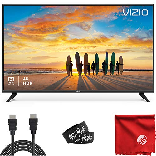 VIZIO V-Series 50-Inch 2160p 4K UHD LED Smart TV (V505-G19) with Built-in HDMI, USB, Dolby Vision HDR, Voice Control…