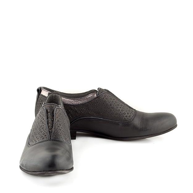 Felmini - Scarpe Donna - Innamorarsi com Edu 9643 - Scarpe Derby - Pelle  Genuina - Nero - 41 EU Size: Amazon.it: Scarpe e borse