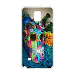 CASE DIY Color Skull Pattern Phone Samsung Galaxy Note3