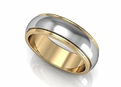 polished p bands band gold designer wedding yellow mens s width ring men traditional