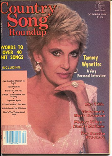 Country Song Roundup-10/1984-Tammy Wynette-Mickey Gilley-Burrito Brothers-FN ()