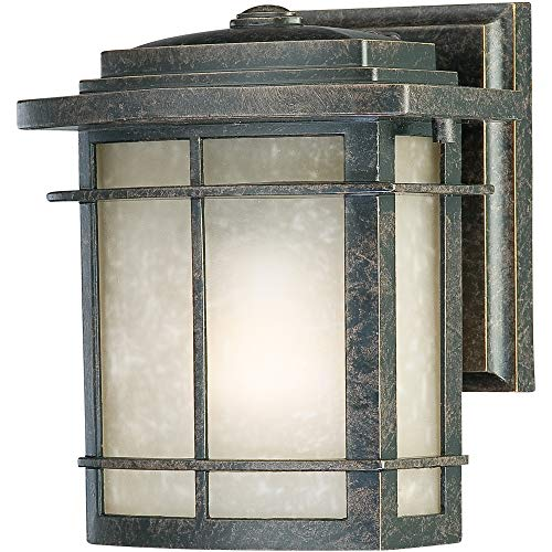 Quoizel GLN8407IB One Light Outdoor Wall Tabletop Lanterns, Small, Imperial Bronze