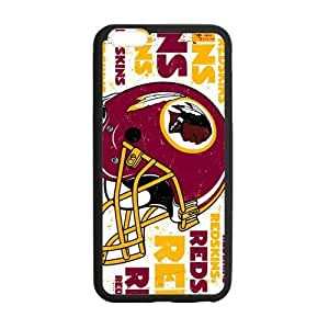 Hoomin Coolest Washington Redskins Design iPhone 5C Cell Phone Cases Cover Popular Gifts(Laster Technology)