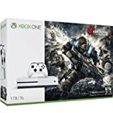 Microsoft Xbox One S Gears of War 4 1TB Console Bundle - White