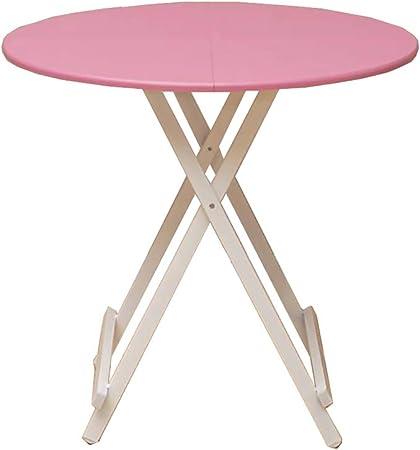 Qyj Table A Manger Table Ronde Moderne De Cuisine Table