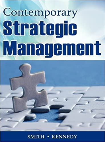 Ilmaiset äänikirjat ranskalaisessa latauksessa Contemporary Strategic Management by Smith, David, Kennedy, Jeffrey [North American Business Press,2012] [Hardcover] PDF iBook