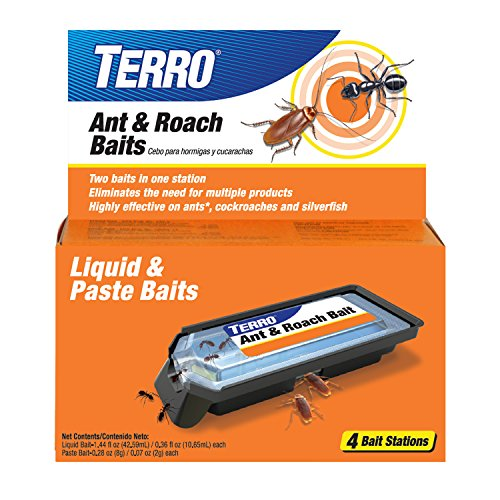 Roach Magnet - Terro T360 Ant and Roach Bait Stations, 1 Pack
