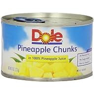 Dole Pineapple Chunks in Juice, 8 oz