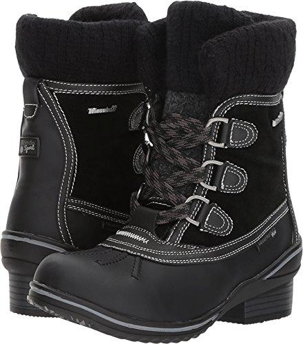 Blondo Women's Meggy Waterproof Snow Boot, Black, 8 M US