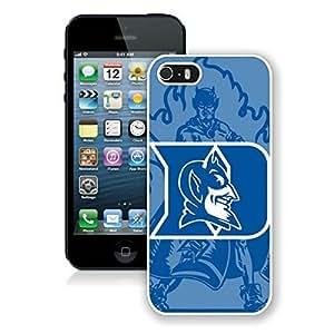 NCAA Atlantic Coast Conference ACC Footballl Duke Blue Devils(1) White Case For Samsung Galaxy S3 i9300 Cover Genuine Custom Cover