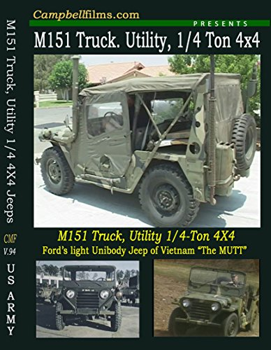 M151 M151A2 M-151 Army Jeep Films Not MB GPW War old, used for sale  Delivered anywhere in USA