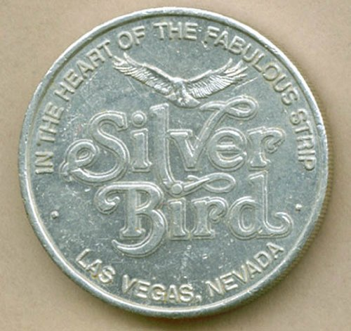 Silver Bird Casino Las Vegas Free Play Token from The Jumping Frog