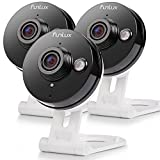 Funlux Wireless Two-Way Audio Camera & 6-Month Cloud Storage - All Inclusive Bundle - Smart HD Outdoor WiFi IP Cameras with Night Vision