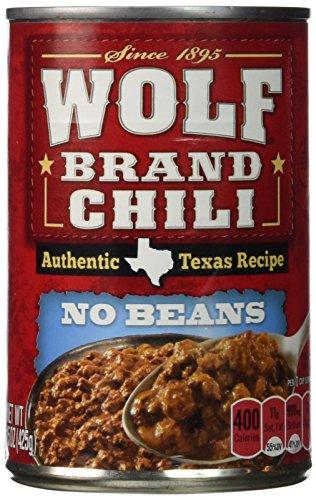 Wolf Chili No Beans 15 oz. - 12 Unit Pack