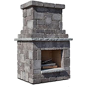 Amazon Com Necessories Colonial Outdoor Fireplace In