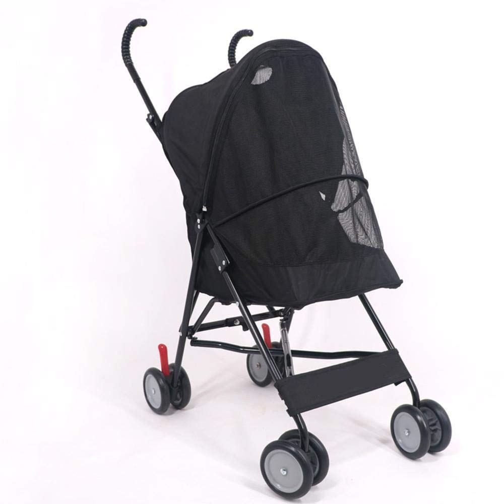 B Lozse Pet Stroller Dog Pushchair Dog out cart One key folding light carry