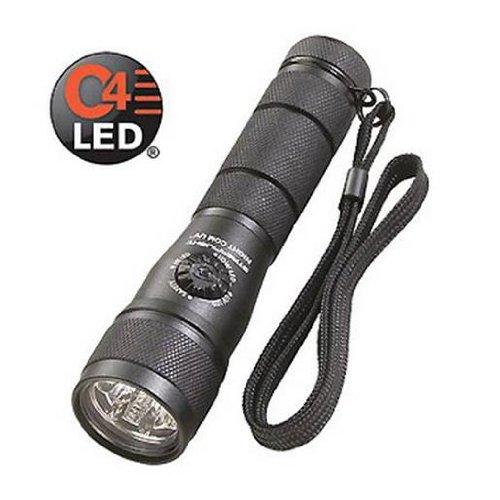 Streamlight 51046 Night Com UV LED Flashlight, Black - 115 Lumens