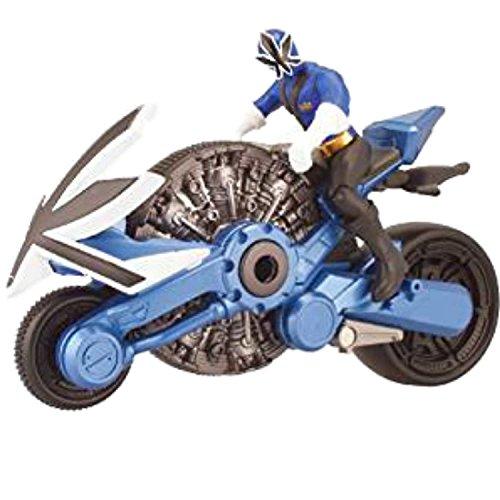 Power Ranger Samurai Blue Cycle with 4