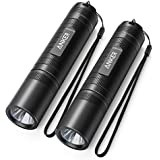 [2-pack]Anker LC40 LED Flashlight, Pocket-Sized LED Torch, Super Bright 400 Lumens CREE LED, IP65 Water Resistant, 3 Modes High/Low/Strobe for Indoors and Outdoors (Camping, Hiking, Cycling and Emergency Use)