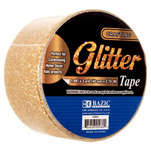 New 353858 Duct Tape Glitter 1.88 X 3Yrd Asst Clr 960 (36-Pack) Tools Cheap Wholesale Discount Bulk Hardware Tools Bud ()