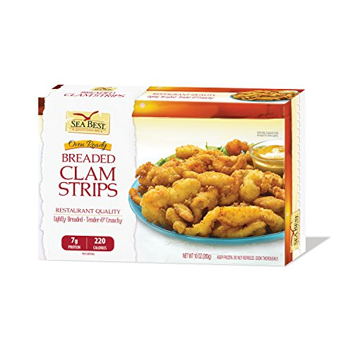 Sea Best Breaded Clam Strips, 10 Ounce