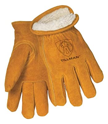 Tillman 1450 Split Cowhide Pile Lined Winter Gloves Large