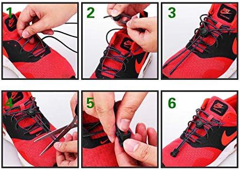 結ばない靴ひも ほどけない靴ひも 5足分セット ゴム