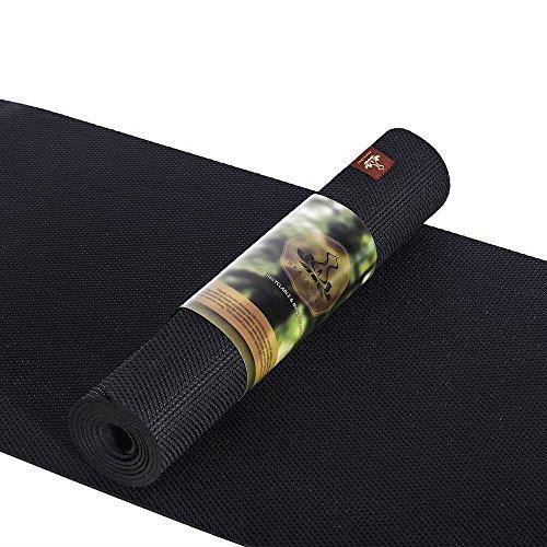 DenDen Heathyoga Non Slip Natural Rubber Yoga Mat, Hot