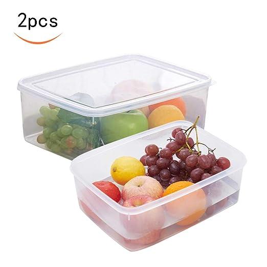 Caja de almacenamiento de alimentos, plástico PP ...