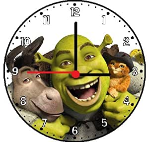 shrek the movie wall clock home kitchen