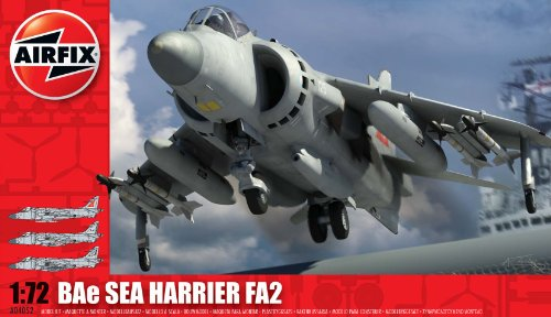 Airfix A04052 BAe Sea Harrier FA2 1:72 Scale Series 4 Plastic Model Kit