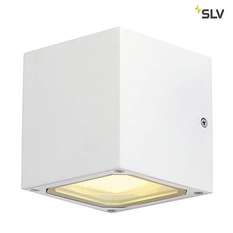 Slv Wandlampe Sitra Cube Für Die Effektvolle Außenbeleuchtung Von Hauseingang Wänden Wegen Terrassen Fassaden Treppen Led Wandleuchte