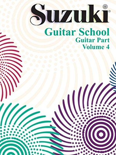 Introducing Guitar Book - Suzuki Guitar School, Vol 4: Guitar Part (Volume 4)