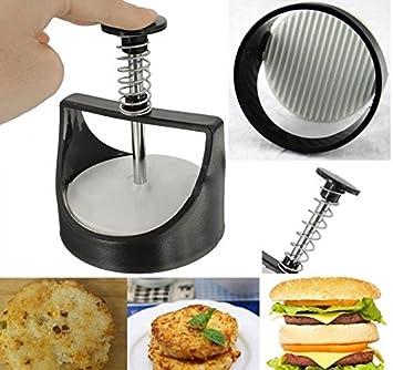 Compra Molde Prensa manual Panino hamburguesas Manzo Suino molde herramienta de cocina en Amazon.es