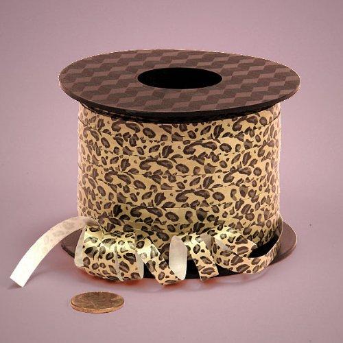 (Leopard Curling Ribbon, 1/4