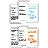 Nasco TB23494T I Have...? Who Has... Geometry Vocabulary Card Game, Two Decks, Grades 7+