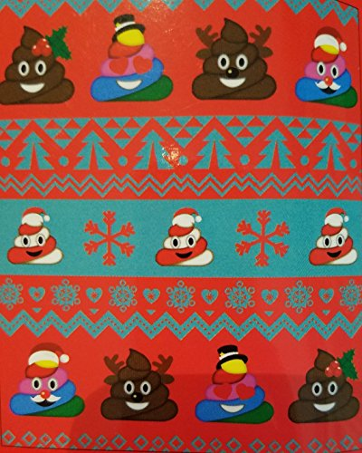 Emoji Poop Christmas Velvet Plush Throw