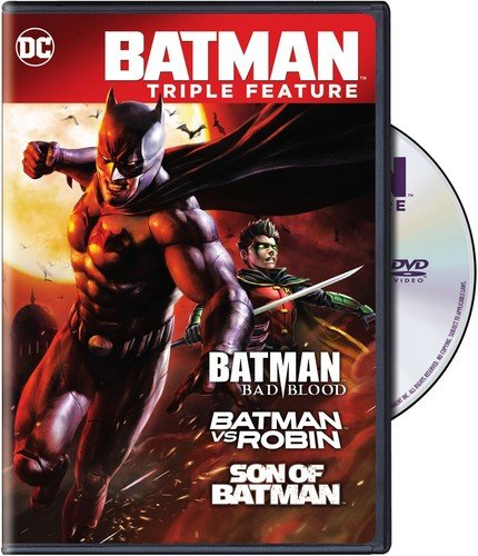 - Batman: Bad Blood - 3 Film Collection