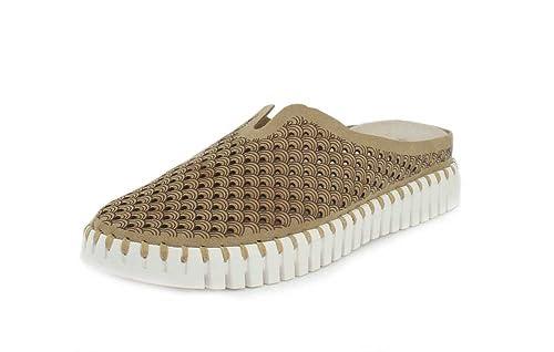 ec1a8cbcb01c ILSE JACOBSEN Tulip Mule Shoes Natural 4 UK  Amazon.co.uk  Shoes   Bags