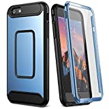 YOUMAKER Case for iPhone 6S Plus, Full Body with Built-in Screen Protector Heavy Duty Protection Shockproof Case Cover for Apple iPhone 6S Plus (2015) / 6 Plus (2014) 5.5 inch - Blue